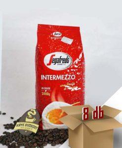 Segafredo Intermezzo szemes kávé 8 x 1000 g Ingyenes szállítással