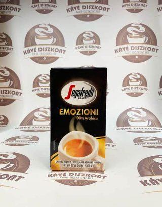 Segafredo Emozioni őrölt kávé 250 g