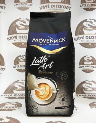 Mövenpick Latte Art is the latest offering from the high-quality Mövenpick of Switzerland range. It's ideally suited to all specialty coffees prepared with milk, for example cappuccinos or latte macchiatos. Mövenpick Latte Art is available as whole beans and is compatible with all fully automatic coffee machines.