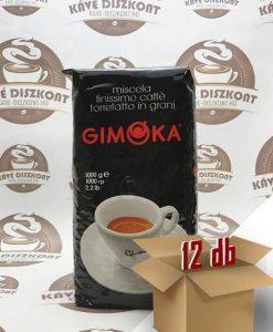 Gimoka Gran Nero szemes kávé 12 x 1 kg ingyenes szállítással