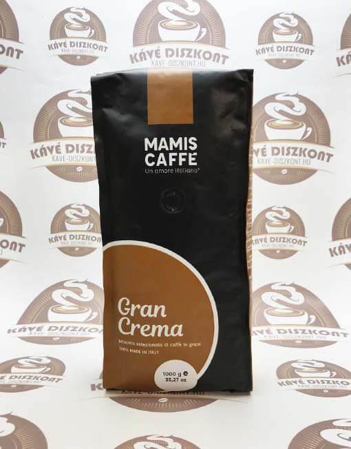 Mamis Caffé Gran Crema szemes kávé 1000 g