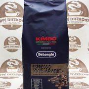 Kimbo Delonghi 100 % arabica szemes kávé 1000 g