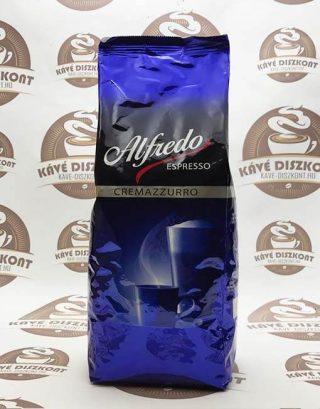 Alfredo Espresso Cremazzurro szemes kávé 1000 g