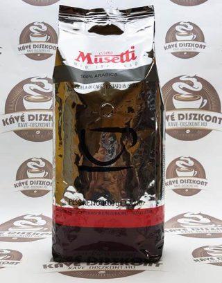 Musetti 100% Arabica szemes kávé 1000 g