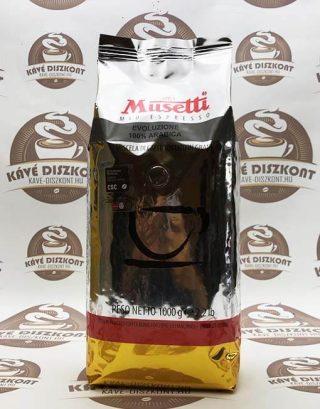 Musetti Evoluzione szemes kávé 1000 g