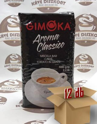 Gimoka Aroma Classico ( volt Gala ) szemes kávé 12 x 1 kg ingyenes szállítással