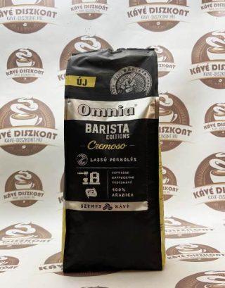 Omnia Barista Editions Cremoso szemes kávé 900 g