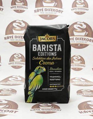 Jacobs Barista Crema Brazil szemes kávé 1000 g