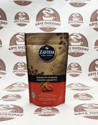 Zavida Amaretto Almond - amaretto mandula ízesítésű szemes kávé 340 g