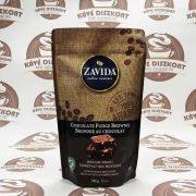Zavida Chocolate Fudge Brownie - fudge brownie ízesítésű szemes kávé 340 g