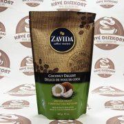 Zavida Coconut Delight - kókusz ízesítésű szemes kávé 340 g
