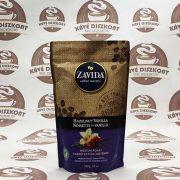 Zavida Hazelnut Vanilla - vaníliás mogyoró ízesítésű szemes kávé 340 g