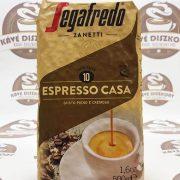 Segafredo Espresso Casa új recept szemes kávé 500 g