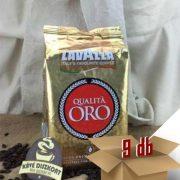Lavazza Qualita Oro Szemes kávé 9 x 1000 G Ingyenes szállítással