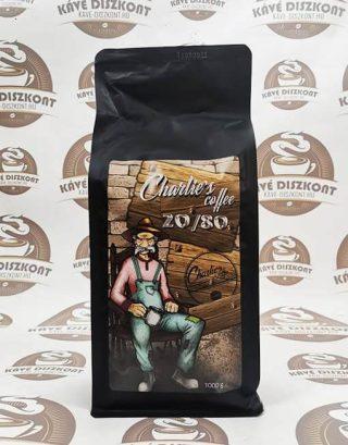 Charlie's Coffee 20/80 szemes kávé 1000g